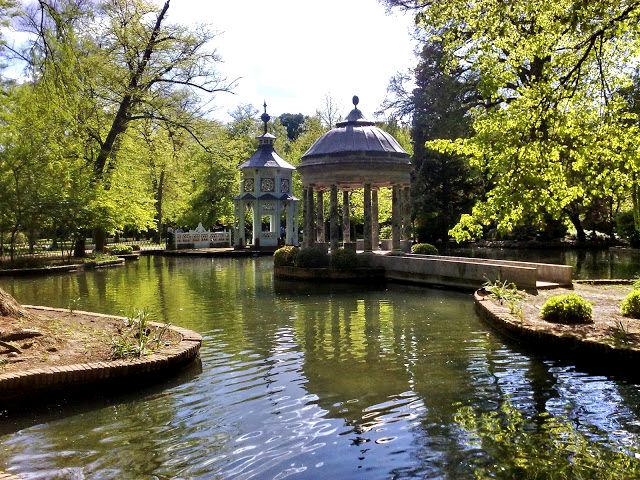 Aranjuez - Palacio Real - Jardines Principe