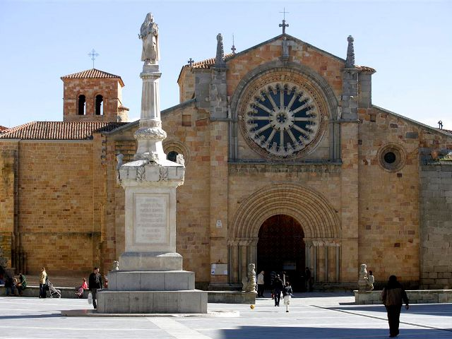 Avila - Iglesia San Pedro