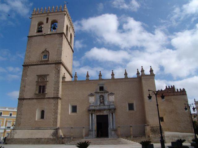 Fachada de la Catedral de Badajoz