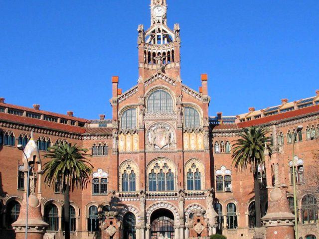 Barcelona - Hospital Santa Cruz y San Pablo