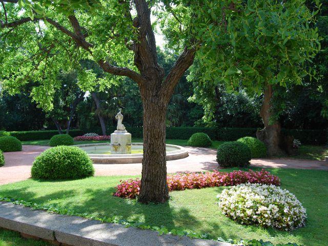 visitando los parques y jardines de barcelona