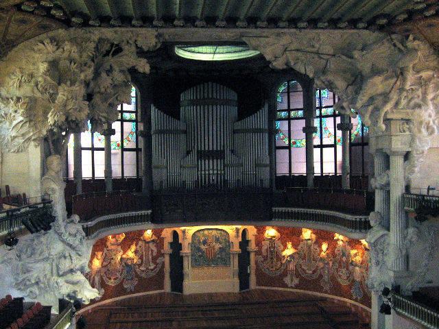 Barcelona - Palau Musica - Escenario