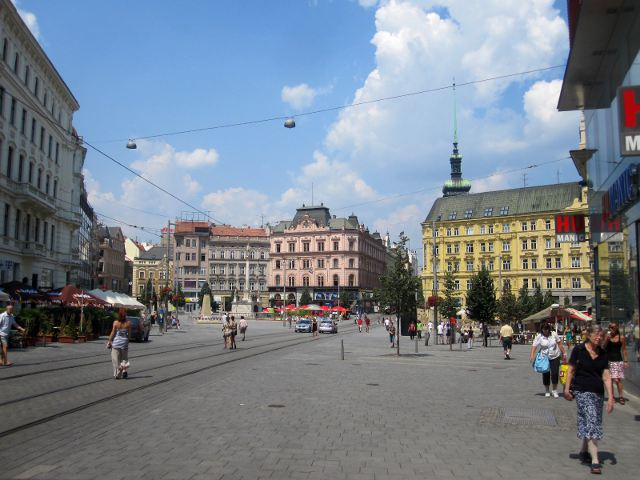 Brno - Plaza de la Libertad