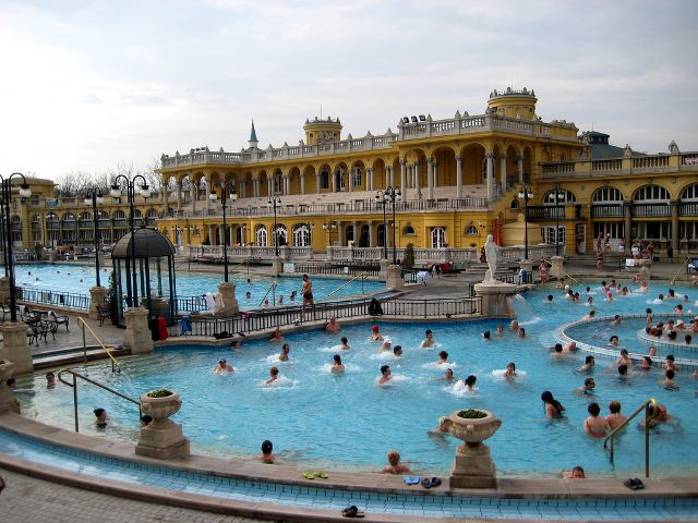 Budapest - Balenario Szechenyi