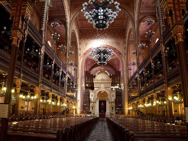 Budapest - Sinagoga Judia - Interior