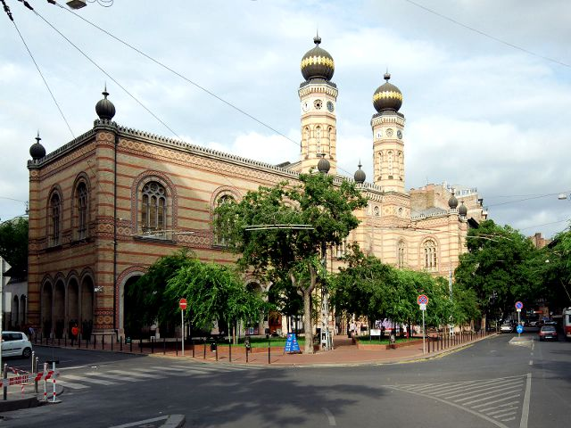 Budapest - Sinagoga Judia