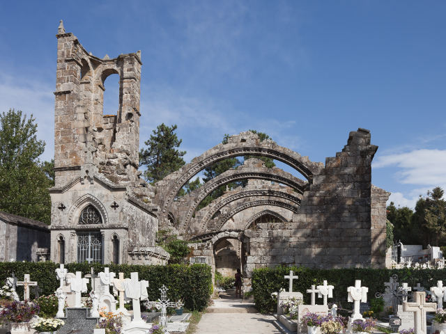 Cambados - Ruinas Santa Mariña de Dozo