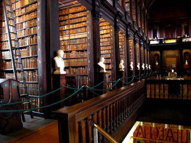 Dublin - Trinity College - Bibiloteca
