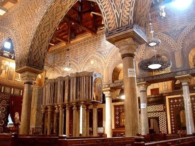 Egipto - El Cairo - Iglesia de San Sergio