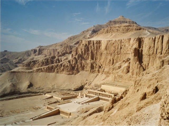 Egipto - Templo de Hatsehpsut