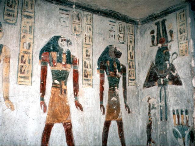 Resultado de imagen para El valle de los reyes tumbas de faraones.