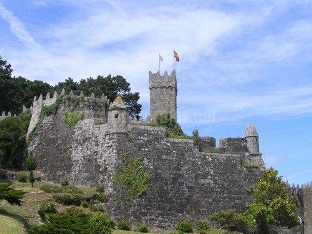 Galicia - Baiona - Castillo Monterreal