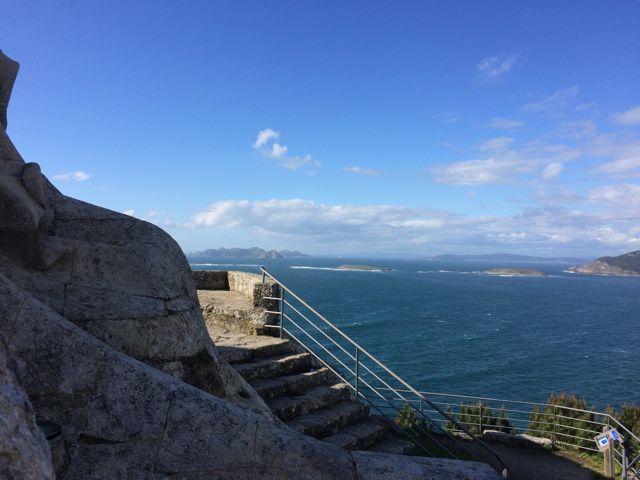 Galicia - Baiona - VIrgen de la Roca