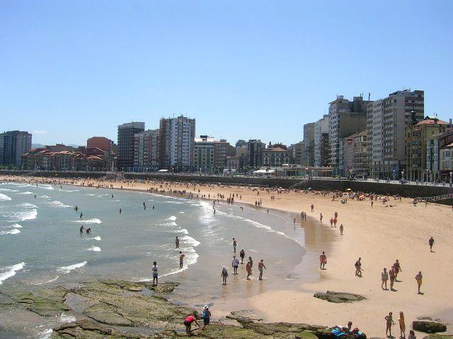 Que ver en Asturias en 4 dias - Gijón - Playa de San Lorenzo