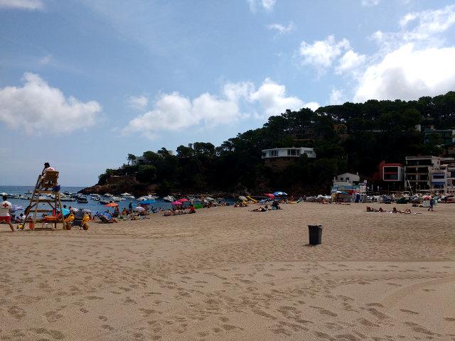 Girona - Begur - Playa Sa Riera