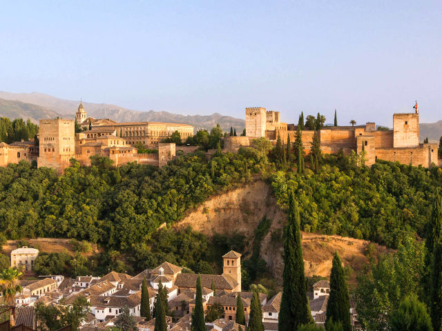 Granada - Alhambra desde Mirador San Nicolás