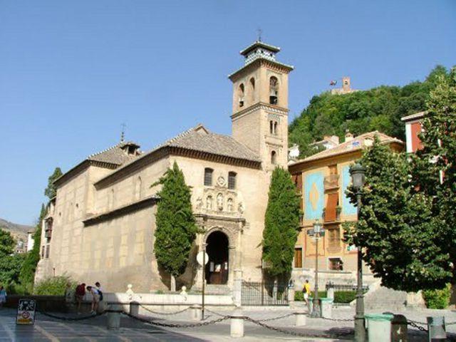 Granada - Iglesia de Santa Ana