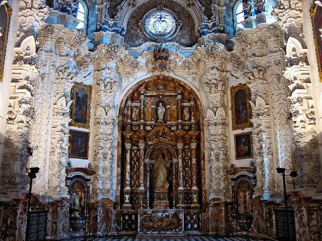 Granada - Monasterio Cartuja - Sacristía