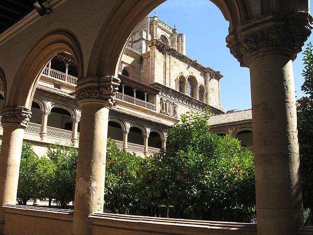 Granada - Monasterio San Jerónimo - Claustro