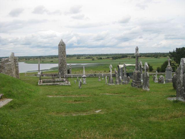 Irlanda - Clonmacnoise - Rio Sannon