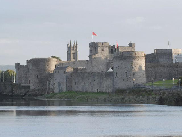 Irlanda - Limerick - Castillo Rey Juan
