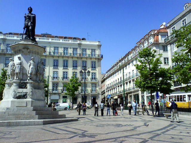 Lisboa -Chiado - Luis Camoes
