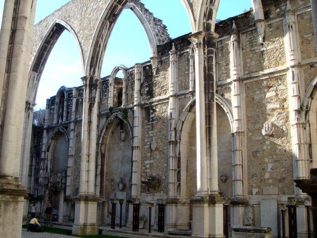 Lisboa - Convento do Carmo