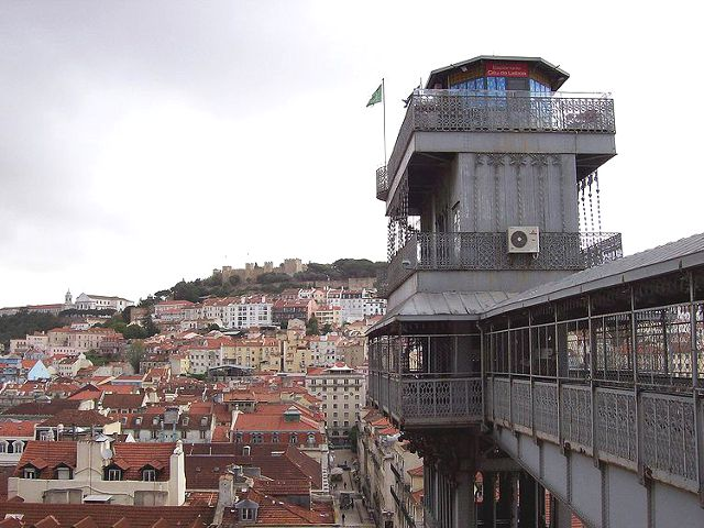 Lisboa - Elevador Santa Justa