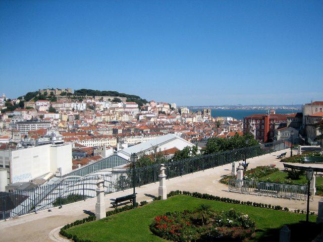 Lisboa - Mirador San Pedro de Alcantara