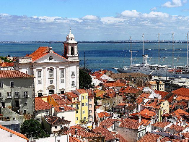 Lisboa - Mirador de Santa Lucia