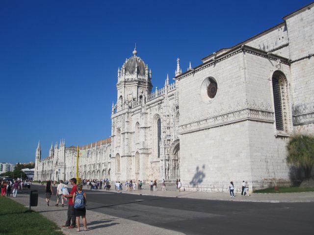Lisboa - Monasterio de los Jerónimos - Fachada