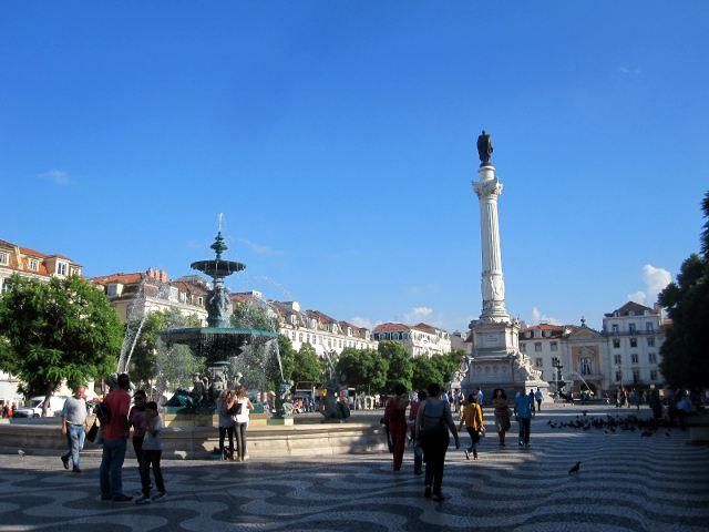 Lisboa - Plaza del Rossio