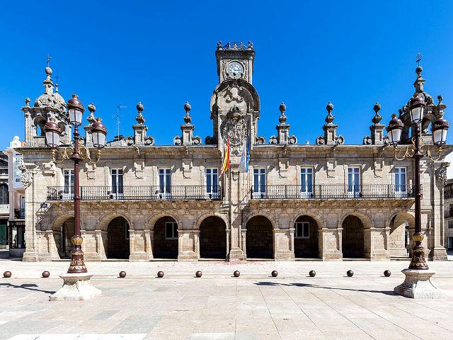 Lugo - Plaza Mayor - Ayuntamiento