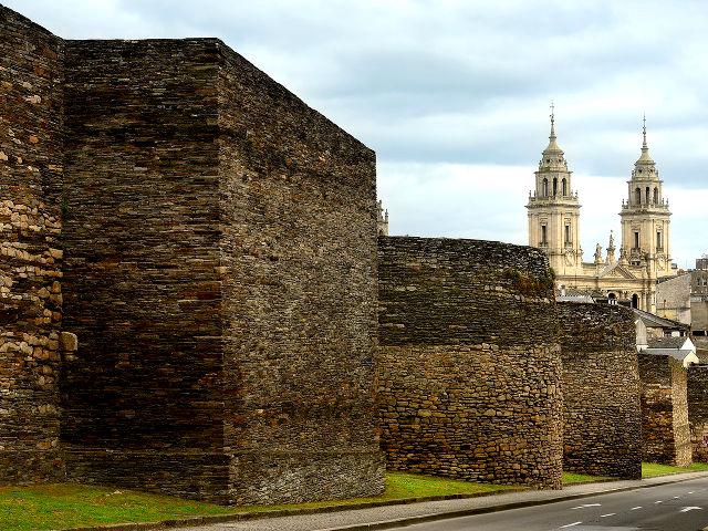 Que ver en Lugo - Murallas Romanas