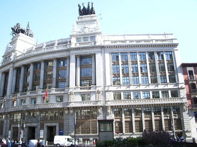 Madrid - Calle Alcala - Edificio Banco Bilbao