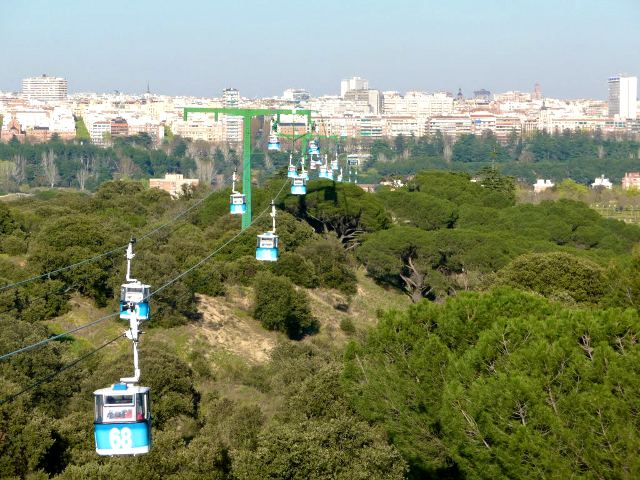Madrid - Casa de Campo - Teleferico