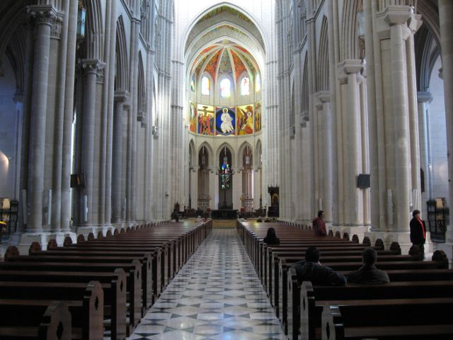 Madrid - Catedral Almudena - Interior