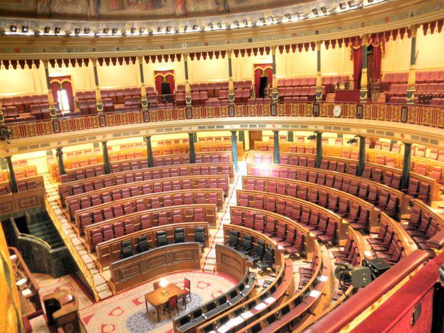 Madrid - Congreso Diputados - Hemiciclo