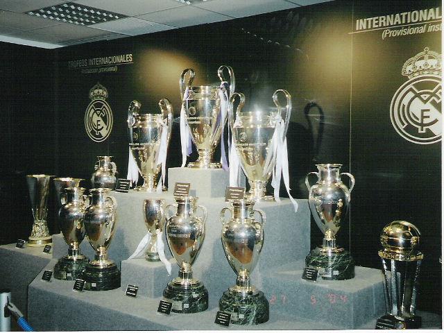 Madrid - Estadio Santiago Bernabeu - Sala de Trofeos