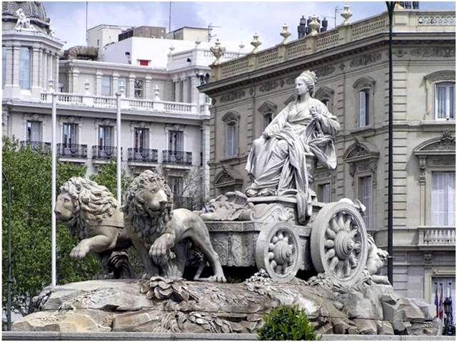 Madrid - Fuente de Cibeles