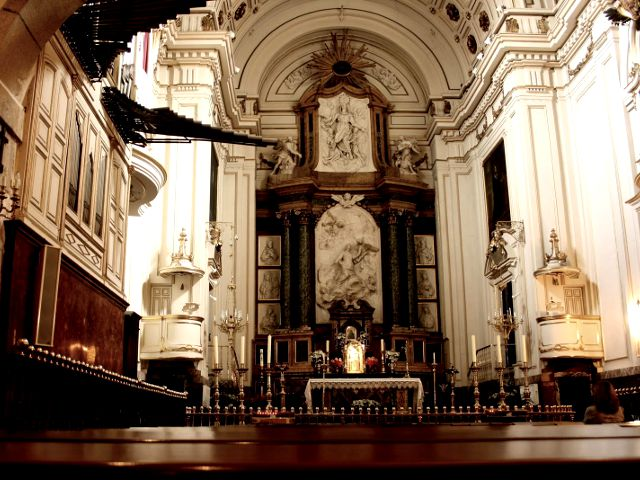 Madrid - Monasterio Descalzas Reales - Iglesia
