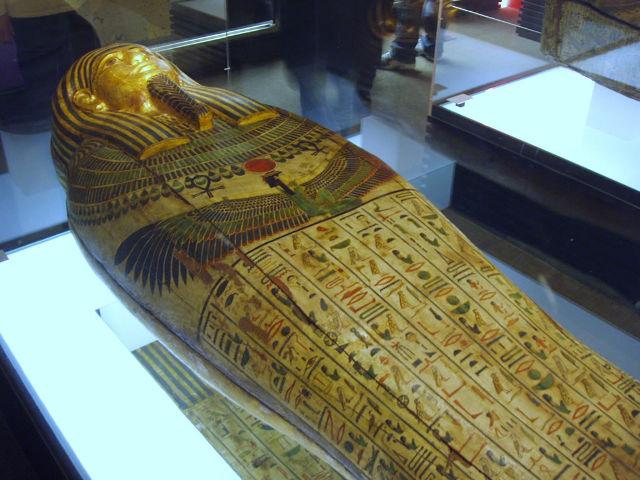 Madrid - Museo Arqueologico - Ataud Taremetchenbastet