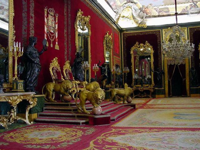 Madrid - Palacio Real - Salón del Trono