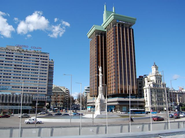 Madrid - Plaza Colón