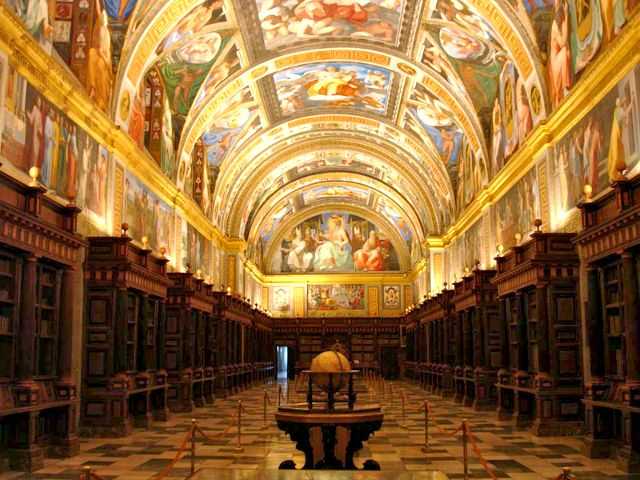 Monasterio El Escorial - Biblioteca