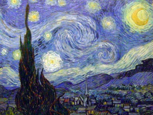 Nueva York - Noche Estrellada - MOMA