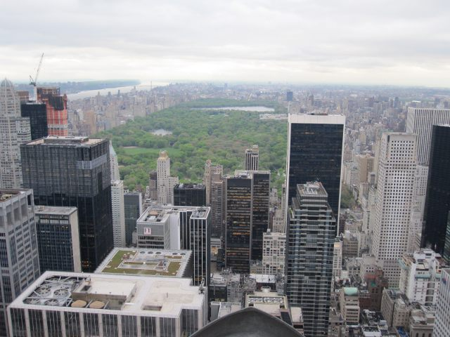 Visitar Nueva York - Central Park desde Top of The Rock