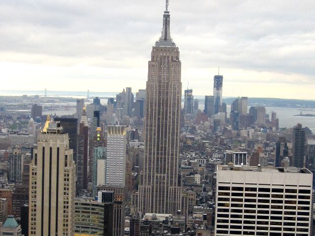 que visitar en Nueva York - Empire State Bulding desde Top of the Rock