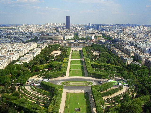 Cu les son los principales parques y jardines de par s for Jardines eliseos