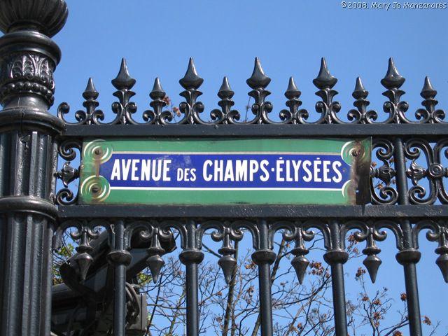 Paris-Campos-Eliseos